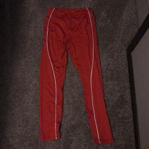 2754cb45e1 Sommer Ray Shop Pants | Sommer Ray High Waisted Red Leggings | Poshmark